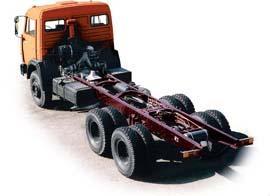 Автомобиль КАМАЗ 53229 Колесная формула 6x4 Техническая характеристика