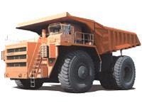 Автомобиль БелАЗ 75215, 75216 Колесная формула 4x4 Техническая характеристика
