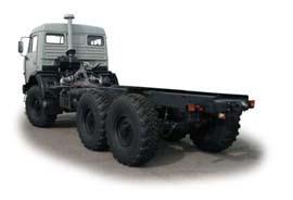 Автомобиль КАМАЗ 43118 Колесная формула 6x6 Техническая характеристика