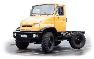 Автомобиль ЗиЛ 43272Т Колесная формула 4x4 Техническая характеристика