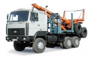 Автомобиль МАЗ 641705-224 Колесная формула 6x6 Техническая характеристика