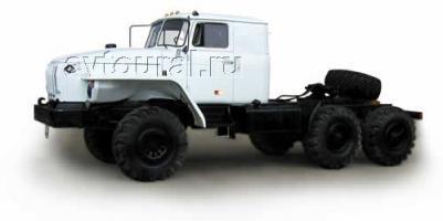 Автомобиль Урал 44202-0511-41 Колесная формула 6x6 Техническая характеристика