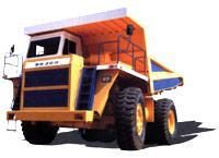 Автомобиль БелАЗ 7555A, 7555B Колесная формула 6x1 Техническая характеристика