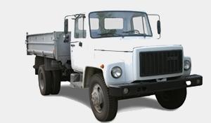Автомобиль ГАЗ 3307 Колесная формула 4x2 Техническая характеристика