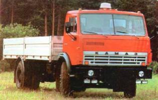 Автомобиль КАМАЗ 5315 Колесная формула 4x2 Техническая характеристика