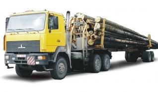 Автомобиль МАЗ 641808,641810 Колесная формула 6x6 Техническая характеристика