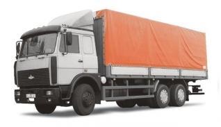Автомобиль МАЗ 630308-224,225 Колесная формула 6х4 Техническая характеристика