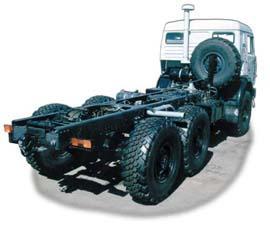 Автомобиль КАМАЗ 43114 Колесная формула 6x6 Техническая характеристика