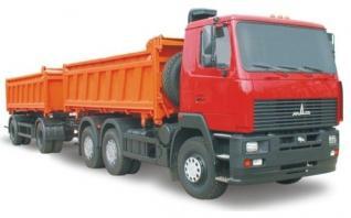 Автомобиль  650108-020,021,022,023 Колесная формула 6x4 Техническая характеристика