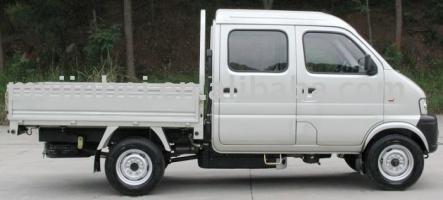 Автомобиль Jinbei SY1044SVS4 Колесная формула 4x2 Техническая характеристика