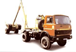 Автомобиль МАЗ 543403-220 Колесная формула 4x4 Техническая характеристика