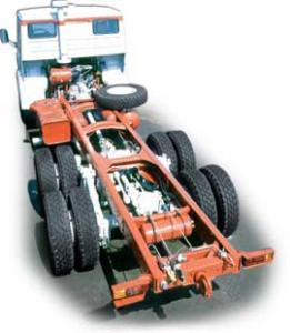 Автомобиль КАМАЗ 53205 Колесная формула 6x4 Техническая характеристика