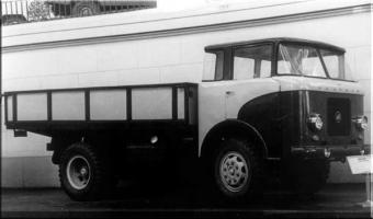 Автомобиль КАЗ 605 Колесная формула 4x2 Техническая характеристика