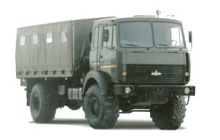 Автомобиль  531605-210 Колесная формула 4х4 Техническая характеристика
