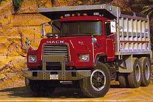 Автомобиль Mack  DM600X (2003) Колесная формула 4x2 Техническая характеристика