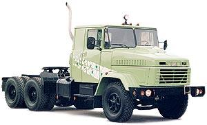 Автомобиль КрАЗ 64431 Колесная формула 6x4 Техническая характеристика