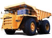 Автомобиль БелАЗ 7514,75141,75145 Колесная формула 4x4 Техническая характеристика