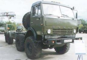 Автомобиль КАМАЗ 6350 Колесная формула 8x8 Техническая характеристика