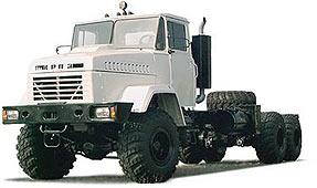 Автомобиль КрАЗ 6322 (63221) Колесная формула 6x6 Техническая характеристика
