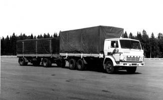 Автомобиль КАМАЗ 5320 Колесная формула 6x4 Техническая характеристика