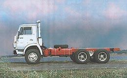 Автомобиль КАМАЗ 53211 Колесная формула 6x4 Техническая характеристика