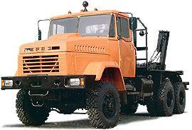 Автомобиль КрАЗ 64372-045 Колесная формула 6x6 Техническая характеристика