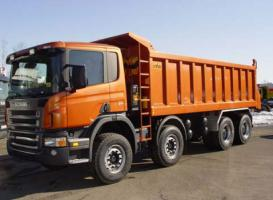 Автомобиль Scania CB8x4EHZ Колесная формула 8x4 Техническая характеристика