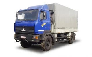 Автомобиль МАЗ 530905-220 Колесная формула 4х4 Техническая характеристика