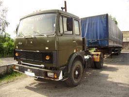 Автомобиль МАЗ 54323 Колесная формула 4x2 Техническая характеристика