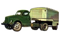 Автомобиль ГАЗ 51П Колесная формула 4x2 Техническая характеристика