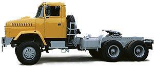 Автомобиль КрАЗ 6443 Колесная формула 6x6 Техническая характеристика