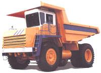 Автомобиль БелАЗ 75471 Колесная формула 5x2 Техническая характеристика
