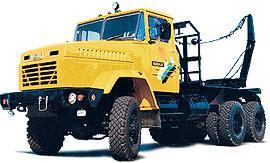 Автомобиль КрАЗ 64372 Колесная формула 6x6 Техническая характеристика