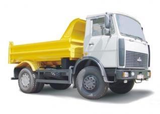 Автомобиль МАЗ 555102-220,-223 Колесная формула 4x2 Техническая характеристика