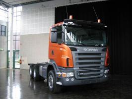 Автомобиль Scania R420 LB6x2HLB Колесная формула 6x2 Техническая характеристика