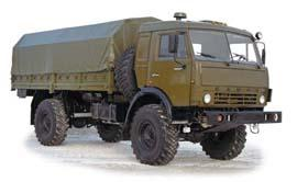 Автомобиль КАМАЗ 4326 Колесная формула 4x4 Техническая характеристика