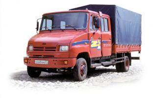 Автомобиль ЗиЛ 5301ME Колесная формула 4x2 Техническая характеристика