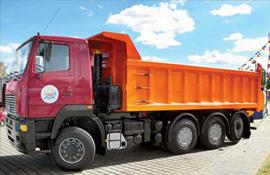 Автомобиль МАЗ-MAN 751268 Колесная формула 8x4 Техническая характеристика