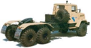 Автомобиль КрАЗ 6446 Колесная формула 6x6 Техническая характеристика