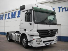 Автомобиль Mercedes-Benz Actros1844 Колесная формула 4х2 Техническая характеристика