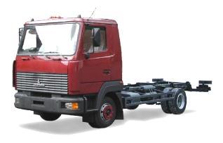 Автомобиль МАЗ 437141-243,244 Колесная формула 4x2 Техническая характеристика