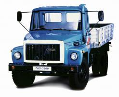Автомобиль ГАЗ 3309 Колесная формула 4x2 Техническая характеристика