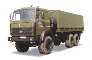 Автомобиль МАЗ 631705-210,212 Колесная формула 6x6 Техническая характеристика