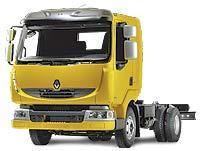 Автомобиль Renault Midlum 150.12/B DCI.4 Колесная формула 4x2 Техническая характеристика