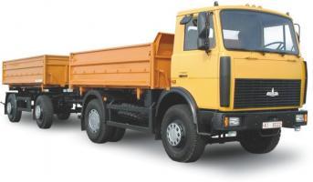 Автомобиль МАЗ 5551А2 (1) Колесная формула 4x2 Техническая характеристика