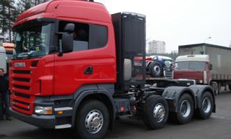 Автомобиль Scania R580 LA8x4/4 HNC Колесная формула 8x4 Техническая характеристика