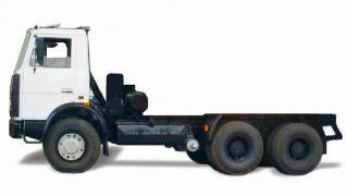 Автомобиль МАЗ 551603-247 Колесная формула 6x4 Техническая характеристика