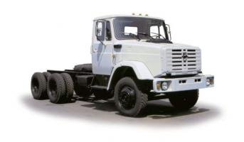 Автомобиль ЗиЛ 452222 Колесная формула 6x4 Техническая характеристика