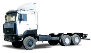 Автомобиль МАЗ 631705-241,243 Колесная формула 6x6 Техническая характеристика