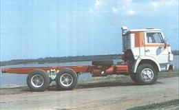 Автомобиль КАМАЗ 53213 Колесная формула 6x4 Техническая характеристика